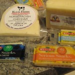 Assorted Cheeses used in the Recipe