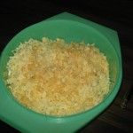 A Pile of Grated Cheese!