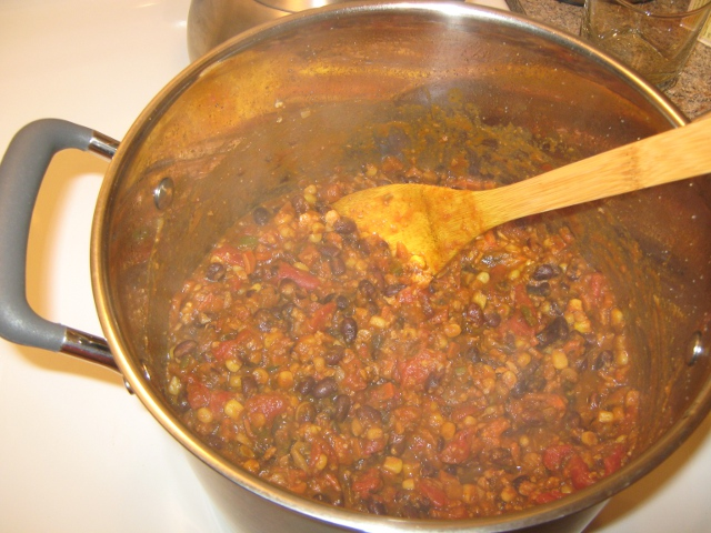 Chili, Ready to Serve!